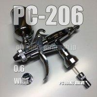PC-JUMBO 206【丸吹き平吹き両用】 PCジョイントバルブ付 (イージーパッケージ)【残り僅か】