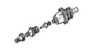 画像3: MP-200C (1ホール) スペアーヘッドセット(L3ホール)1個付 (イージーパッケージ)【特別価格】